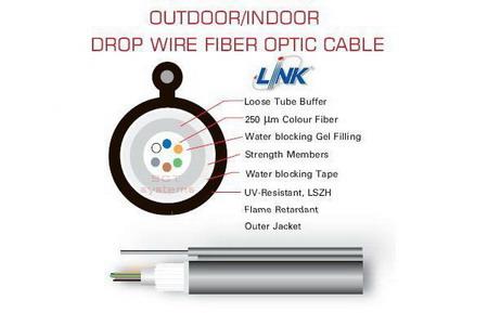 Fiber Optic Cable Outdoor/Indoor Drop Wire
