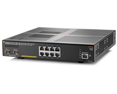 HPE Aruba 2930F 8G PoE+ 2SFP+ Switch