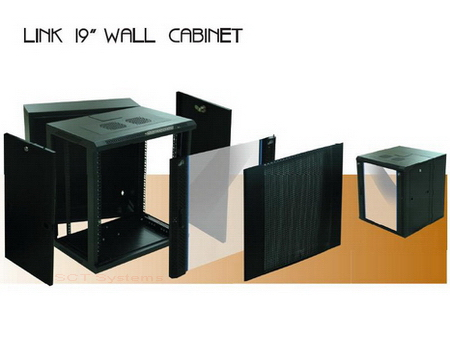 Link 19 Wall Cabinet Rack