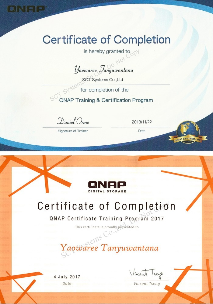 QNAP Certified Sales and Service
